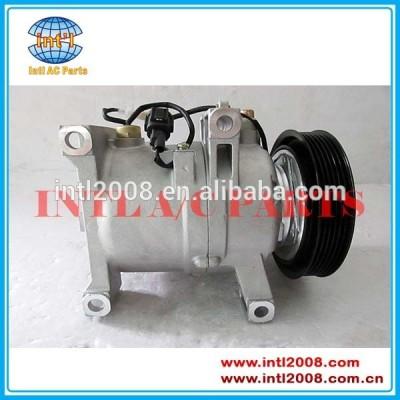 58010-45010 92600- 69y00 peça do carro compressor ac 6pk com ranhuras para infiniti g20 nx nissan sentra dkv14c