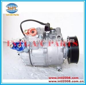 Pv6 100mm embreagem diâmetro 4e0260805ak 4e0260805ae denso 6seu14c auto um/compressor ac para audi q7 4.2 tdi 2007-