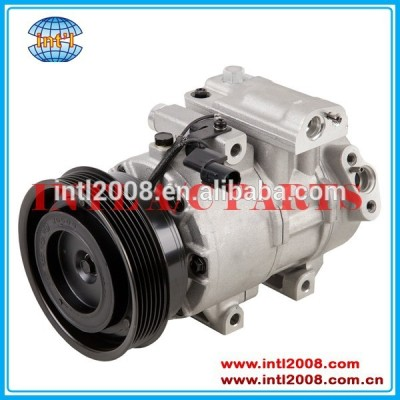 Ac compressor com a embreagem oem#977011m130 977011m130dr fit para a kia forte ex compressor ac