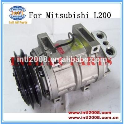 Auto compressor para mitsubishi l200 4x4 2.5l diesel con air bomba acp877 506011-7301