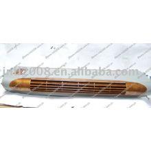Unicla superior unidade de evaporação de madeira de nogueira com a cor cinza