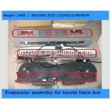 toyota hiace bus ar condicionado auto evaporador assembléia unidade completa