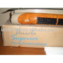 Unicla superior unidade de evaporação de madeira de nogueira com a cor da grelha preto ou cinza de grelha de cor