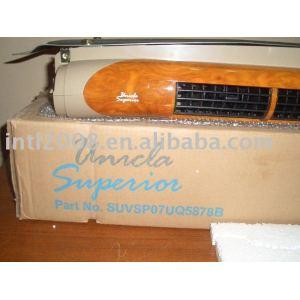 unicla superior evaporator unit walnut wood with color LOUVER BLACK or grey louver color
