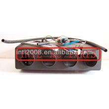 404 sob traço ac um/evaporador ac unidade de montagem da caixa caixas beu-404-000 fórmula iii evaporador unidade o- ring tipo rhd