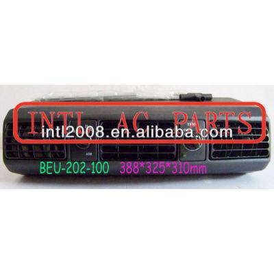 Beu-202-100 rhd flare fórmula estrela um/c ac ar condicionado sob traço evaporador caixas caixa de montagem da unidade 388*325*310mm