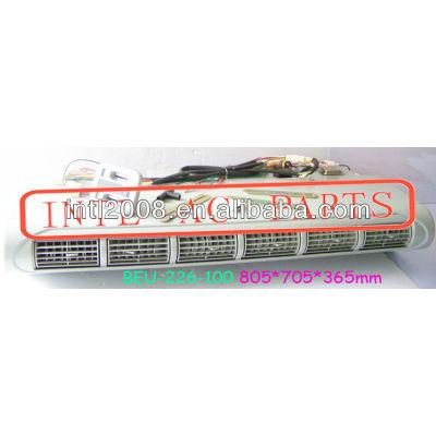 Beu-226-100 micro- ônibus sob traço underdash ac um/c ar condicionado evaporador unidade de montagem da caixa caixas de lhd o- ring 805*705*365mm