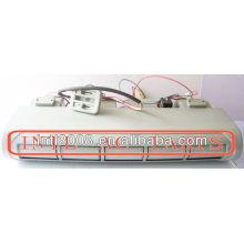 Beu-228l-100 fórmula mini- ônibus sob traço evaporador ac unidade de montagem de um underdash/c ar condicionado unidade flare 677x605x298mm rhd