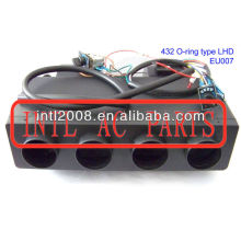 FORMULA 432 AC Evaporator Unit BEU-432-000 O-ring mounting Type 370*290*292mm LHD (left hand drive) BUS