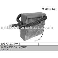 Auto evaporaotor para dodge stratus 01-02/ sebring 01-03