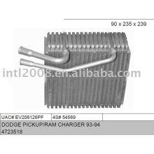 Auto evaporaotor para dodge pickup/ ram carregador 93-94