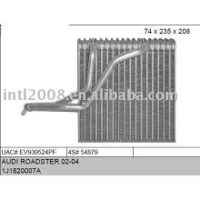 Auto evaporaotor para audi roadster 02-04, a3