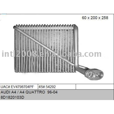 Auto evaporaotor para audi a4/ a4 quattro 96-04