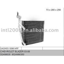 Auto evaporaotor para CHEVROLET BLAZER 03-06
