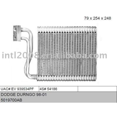 Auto evaporaotor para dodge durango 98 - 01