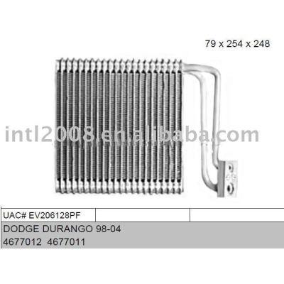 Auto evaporaotor para dodge durango 98-04