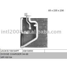 Auto evaporaotor para dodge charger 94-96