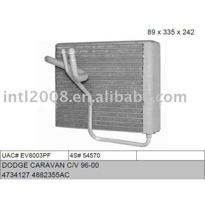 Auto evaporaotor para dodge caravan c/ v 96-00