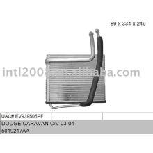 Auto evaporaotor para dodge caravan c/ v 03 - 04