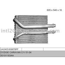Auto evaporaotor para dodge caravan c/ v 01 - 04