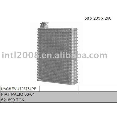 Auto evaporador para fiat palio 00-01