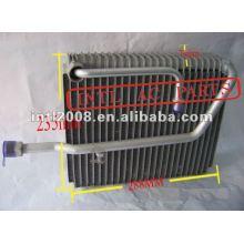 Evaporador Auto ac para HONDA ACCORD 1998-2001 OEM #80215584A01