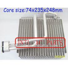 Carro ac ar condicionado evaporador bobina de núcleo de kia optima ar condicionado uma/núcleo do evaporador ac corpo