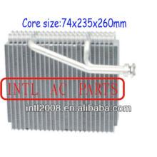 Ar condicionado carro ac evaporador núcleo bobina Infinit I30 Nissan Maxima ar condicionado A / C do evaporador núcleo do corpo 272802Y960