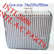 Carro ac ar condicionado evaporador bobina de núcleo de nissan sentra ar condicionado uma/núcleo do evaporador ac corpo 27110- 6z522 27280- 4z410 271106z522