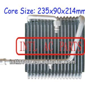 Ac núcleo do evaporador para mazda 1997-1999 323 r12 ar condicionado uma/c ac núcleo do evaporador( corpo) carro ar condicionado evaporador bobina