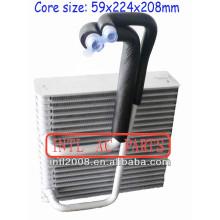 Carro ac ar condicionado evaporador bobina de núcleo de opel corsa 2004-2005 ar condicionado uma/núcleo do evaporador ac corpo