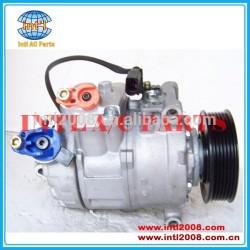 Denso 6seu14c auto um/compressor ac para audi q7 a8/vw touareg bj 2006- 4e0260805ak 4e0260805ae 4e0260805bc 4h0260805f 4e0260805aq