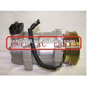 China manufacturer SD709 7H15 ac compressor with clutch Dodge Dakota Jeep Cherokee & Wrangler 1996-2002 4339 5503 6340 5503 7358AB 67550 4703 4722