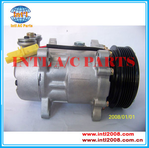 China compressor supplier KlimaKompressor SD6V12 A/C air conditioning COMPRESSOR FOR PEUGEOT 307 Citroen C2 C3 9646273880 SD6V12 1438
