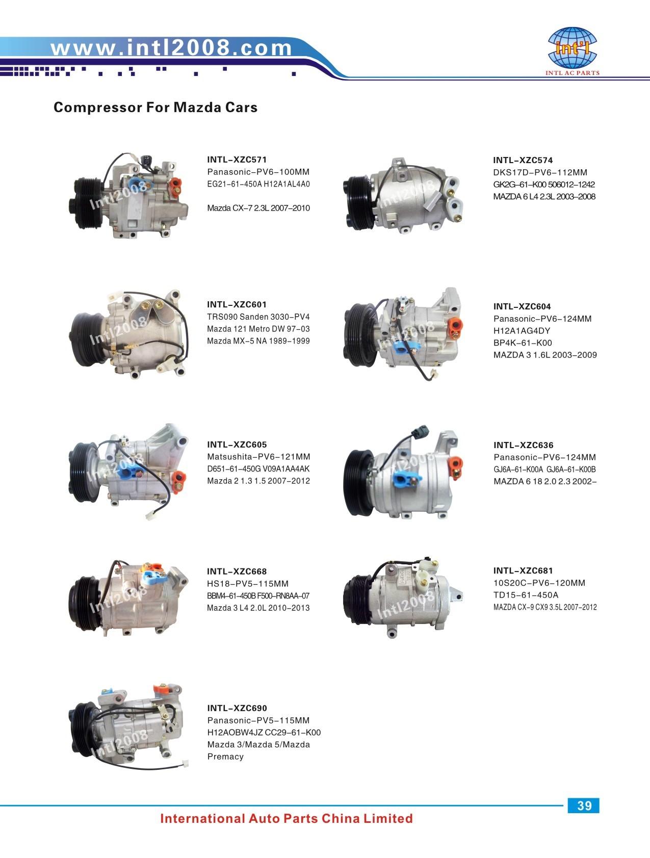 HCC HS15 Ford Ranger 2 5TD/Mazda BT50 B2500 B2900 2001 A/C