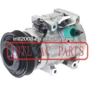 China supplier PV6 HS20 ac compressor Kia Sedona Sorento /Hyundai Entourage 3.3 3.8L 2006-2009 977013E930 977013E930RU 97701-3E930 97701-4D901