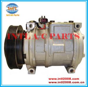 Denso 10PA17C Kompressor Auto AC Pump JEEP GRAND CHEROKEE/CHRYSLER VOYAGER 300 M V6 2.7 2.0 4.0 1991-2001 compressor China factory 3345 447100-6590 447200-4188 4677205