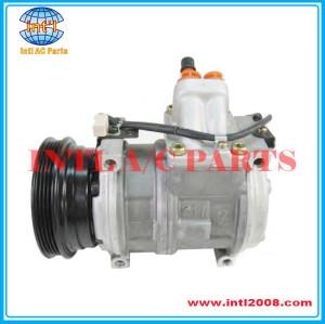 10PA17C Compressor 4PK Applicable for BMW E36 E34 / LAND ROVER OEM#147100-5690 447100-9040 ERR4375