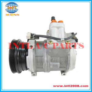 10PA17C Compressor 4PK Applicable for BMW E36 E34 / LAND ROVER OEM#147100-5690 447100-9040 ERR4375
