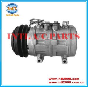 Denso 10PA17C-1GA-132mm  air con pump a/c compressor for AUDI 80 90 100 200 5000 034260805C 034260808B 034260808C China auto factory