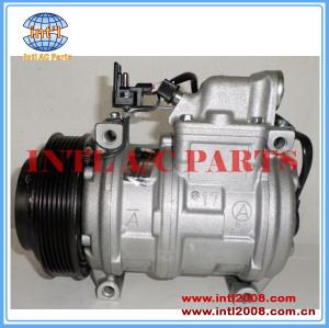 A/C AC Compressor denso 10PA17C for Mercedes-Benz W124 S124 Sprinter W126 R107 A124 R129 W638 1993-1995 A0002303611 000 230 06 11 A0002300511 0002300511 0002340111 1161300515 A0002340111 000 234 01 11