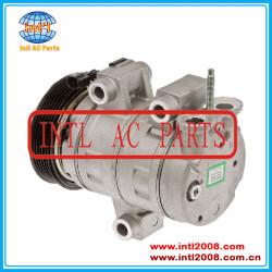 Ac compressor DKS17D-PV6-117mm Chevrolet Equinox Pontiac Torrent V6 3.4L 2006-2009 89022500 19729876 19129809 19130251 1521516 CO 21516JC  China factory producing