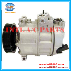1K0820803N 1K0820803L DKS17E-PV6-110mm  ac Compressor for Audi A3 Volkswagen vw Jetta GTI Golf Passat Eos Tiguan Golf City Jetta City China auto air conditioning parts factory
