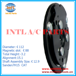 Sanden7H15 CAT compressor clutch hub Diameter:112 mm AUTO air conditioning factory