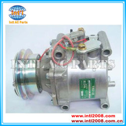 Band new R-134a Air Conditioning Compressor with 1 PK for sanden trs105 3215 Toyota revo