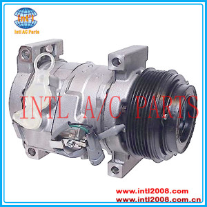 A/C Compressor for Chevrolet GMC 2003 - 2010 New 10S17F with 6 Groove 10364875 89024881