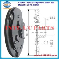 Sanden SD7V16 compressor ac clutch hub