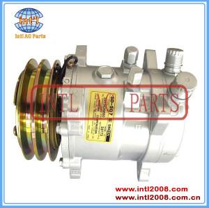 Universal car air condtioning compressor 5H09 sanden 505 9056 12V 125MM Flare /auto ac (a/c) Compressor SD505 5H09 Unisersal