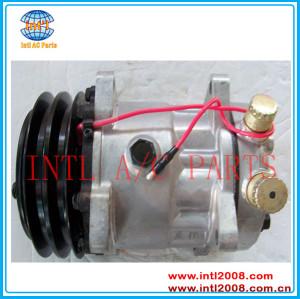 Universal Sanden 706 SD7H13 8949 S8949 ac compressor 7H13-A2 125mm 24V / 12V