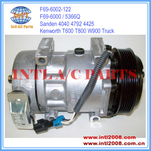China manufacture Sanden SD7H15 Peterbilt/Kenworth Tractors Truck/Straight Truck 3406 AC Compressor 98569 F696002122 LF0121 20-04040-AM